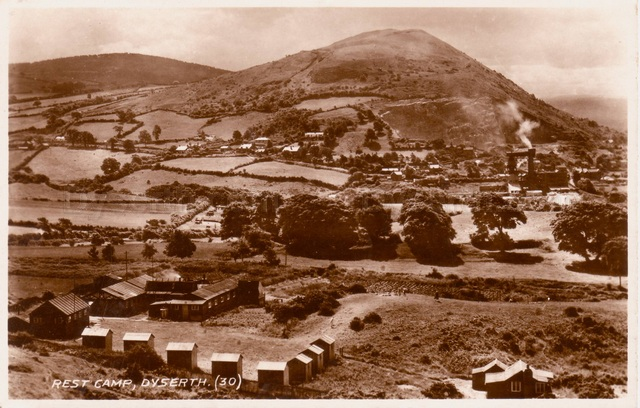 Rest Camp, Dyserth, from a postcard in 1937